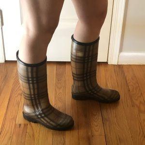 Burberry Rain Boots (women's)